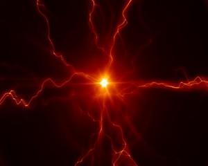 разряд  электричества