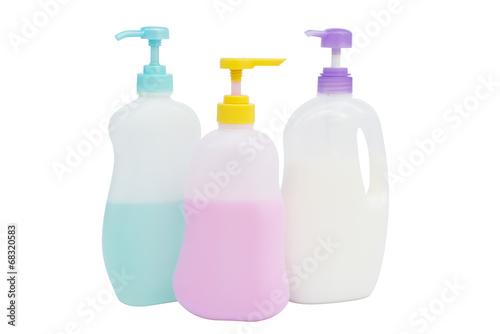 Liquid soap pump bottle isolated. - 68320583