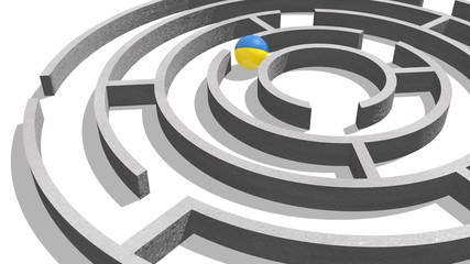 ukraine in the politic maze