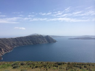 Santorini view