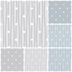 seamless pattern snow