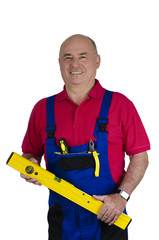 Handwerker mit Werkzeugen