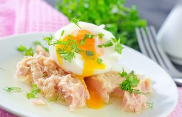 tuna and egg