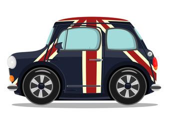 Small cartoon car