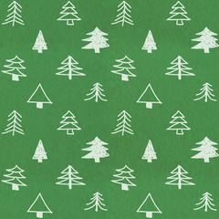 Stylish christmas tree pattern