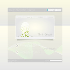 Green eco Business Website Template
