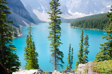 Morain Lake Canada