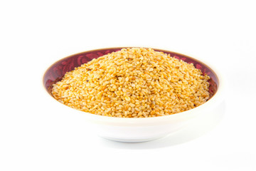 Sesame seed, Isolated