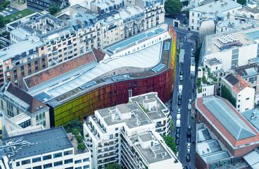 PARIS - JUNE 23, 2014: Aerial view of Ecole d'Enseignement Super