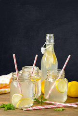 Homemade Lemon Drinks