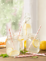 Lemon Drinks In The Window