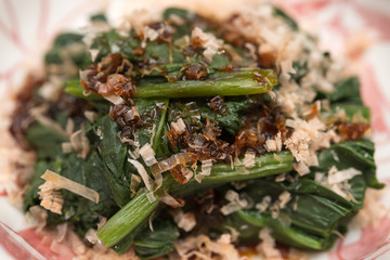ほうれん草のおひたし spinach