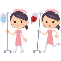 看護婦_点滴輸血