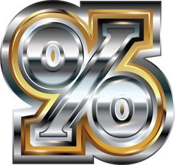 Fancy percent symbol