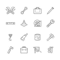 Tools icons eps.10