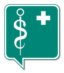 Logo poste de premiers secours.