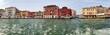 canvas print picture - Panorama von Venedig mit Skyline