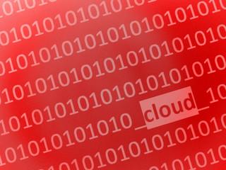 cloud data...