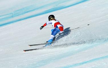 Skirennfahrerin