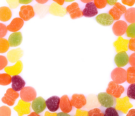 Jelly Candies in a Frame