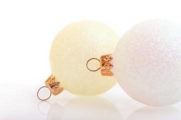 Two Elegant Christmas Bubbles