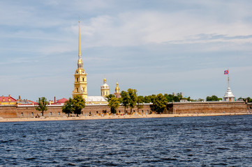 St Peter and Paul fortress, St Petersburg, Russia