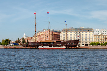 vessel in St Petersburg