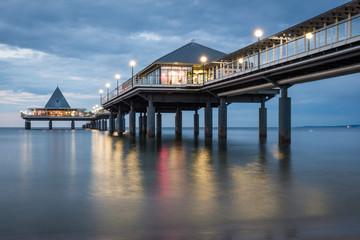 Pier of Seaside Resort Heringsdorf, Baltic Sea, Mecklenburg-West