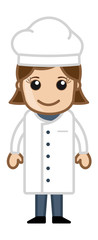 Cartoon Vector - Lady Chef
