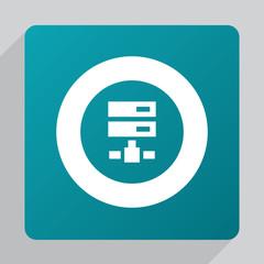 flat net drive icon.
