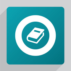 flat book icon.