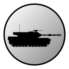 Modern heavy tank button