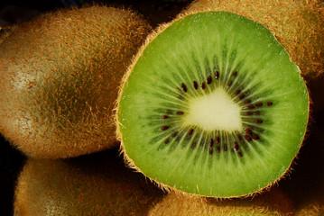 Kiwi, fondo, fruta, nutrición