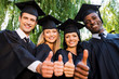 Successful graduates.