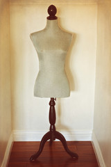 Antique dress form mannequin
