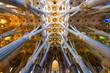 Leinwanddruck Bild - Sagrada Familia
