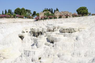 Pamukkale's terraces