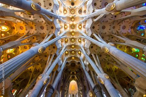 Leinwanddruck Bild Sagrada Familia
