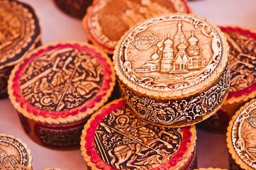Moscow souvenir boxes