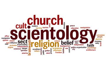 Scientology word cloud