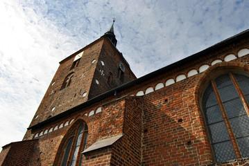 Ansicht Stadtkirche Fehmarn