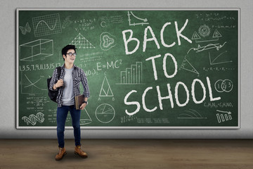 Male student back to school 1