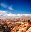 Zdjęcia na płótnie, fototapety, obrazy : Stone desert in the Sahara