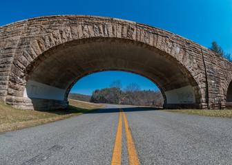 Stone Bridge over the Blue Ridge Parkway