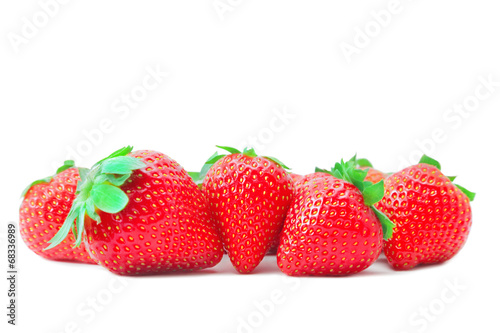 canvas print picture Strawberries