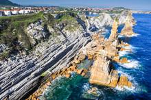 Liencres rotos Costa, Cantabria (España)