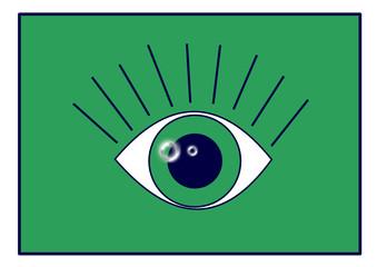 Icono para clínica oftalmológica
