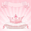 Princess crown background