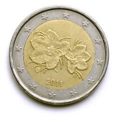 Suomalaiset eurokolikot Rubus chamaemorus Finnish euro coins