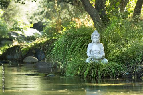 canvas print picture Bouddha et Bien-être